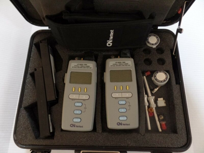 GN Nettest LP-5025 Laser Optical Test Set Kit