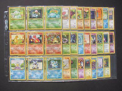 Pokemon COMPLETE ORIGINAL 151/150 - 45 HOLOS - CHARIZARD - Base Jungle Fossil