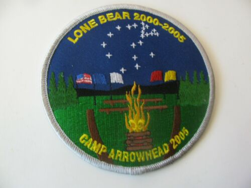 BSA Boy Scout  Camp Arrowhead Marshfield Missouri MO Patch NOS New Free Shipping