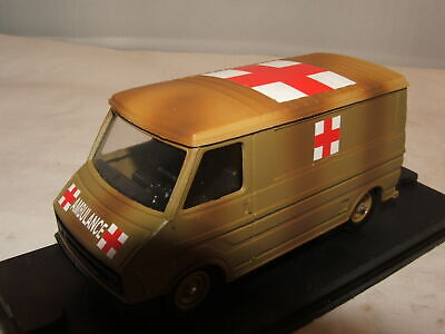 CITROEN C35 TOLE AMBULANCE MILITAIRE VEREM 1/50 V9616 ARMY 1980 MADE IN FRANCE