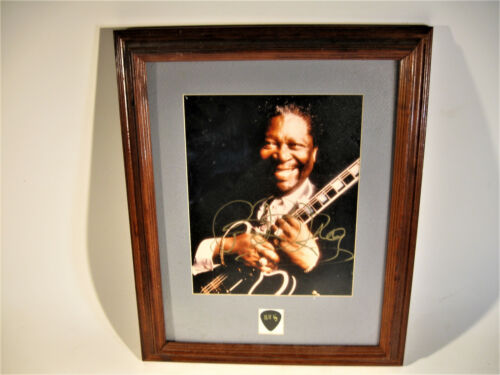 Authenticated Photograph Of BB King Music Legend