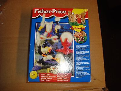 Fisher Price Great Adventures Magic Castle Witch & Wizard European Release NIB