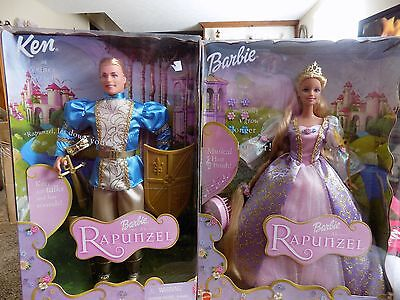 barbie and ken rapunzel 2001  nrfb