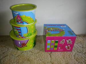 Tupperware - JoJo Dragon Canisters Set - New Fun Set Container co Brighton-le-sands Rockdale Area Preview