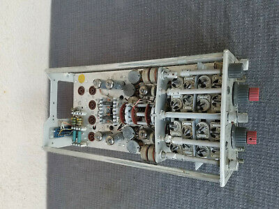 Tektronix Type 3a72 Dual Trace Amplifier Plug-in For Parts