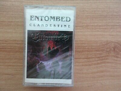 Entombed ‎– Clandestine Korea Cassette Tape SEALED NEW RARE No Barcode