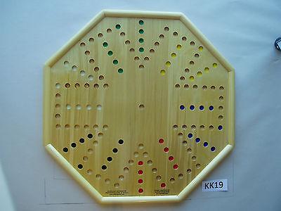 WAHOO WA HOO BOARD GAME  20 x 20 inch.  Octagon.  6 player  KK19 for sale  Midland