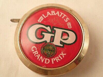 LABATTS GP Grand Prix Ale Biere Beer advertising 6 Ft. Retractable Tape Measure