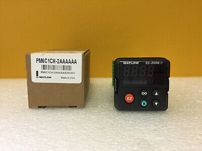 Watlow Pm6c1ch-2aaaaaa 100 To 240 Vac Panel Temperature Controller. New
