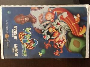 Space Jam on VHS