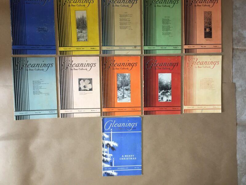 Gleanings In Bee Culture 1935 11 Vintage Beekeeping Books