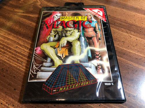 MASTER of MAGIC  Commodore 64 Packaging ~ * NO GAME DISK *