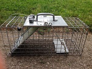 NEW Small animal trap, for skunk, squirrels, rats,etc.