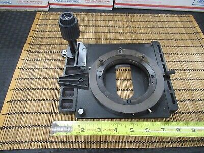 Leica Dmrb Germany Xy Stage Table Microscope Part As Pictured Td-4