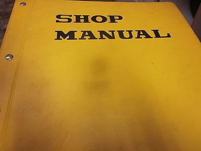 Dresser 525 Wheel Loader Service Shop Manual Sn 7001 Up