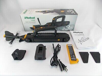 iRobot Looj 330 Robotic Gutter Cleaner System L330020 7.2 Lithium Ion Battery