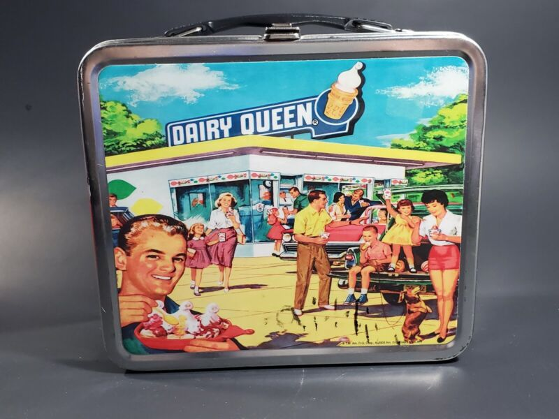 Vintage Dairy Queen Lunch Box 2003