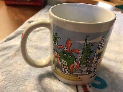 M&M's World Welcome To Las Vegas Coffee Mug Cup Custom Michael Beautiful Art](Custom M&m)