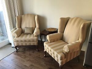 Custom High Quality Wingback Chairs and Counch