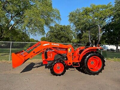2016 Kubota L3301 With Kubota Front End Loader And Bucket 4x4 Hst 313 Hrs