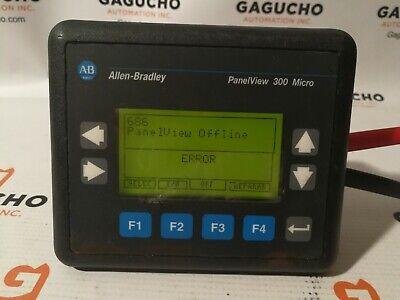 Allen Bradley Panelview 300 Micro 2711-m3a19l1 Ser Frn. 4.41 Scratches