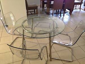 Table and 4 chairs Glenmore Park Penrith Area Preview
