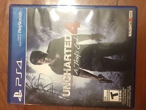 Uncharted 4 mint condition