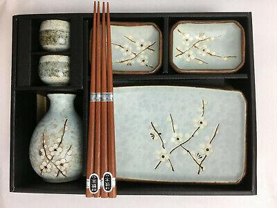 Sushi Sake Sets - Spring Blossoms Sushi & Sake Set