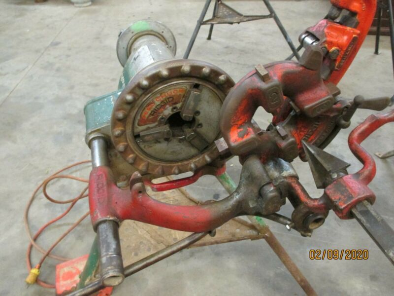 Ridgid Model 300 Pipe Threader
