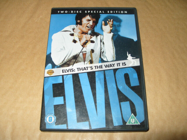 Elvis - That's The Way It Is (DVD, 2007, 2-Disc Set) R2-FREE 1st CLASS POST!!!!!