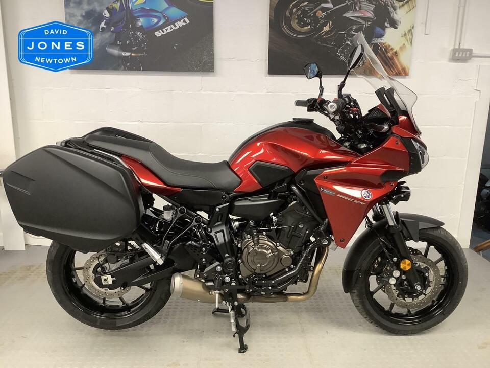 YAMAHA TRACER 700 GT MT07 - 2018 / 18 ONLY 3500 MILES - LOTS OF ACCESSORIES