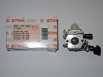 4241  Original Stihl Vergaser C1M-S203 für BG SH 56 86