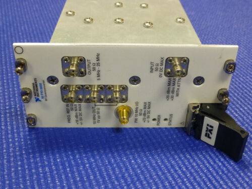 National Instruments NI PXI-5600 RF Downconverter Module, 2.7 GHz