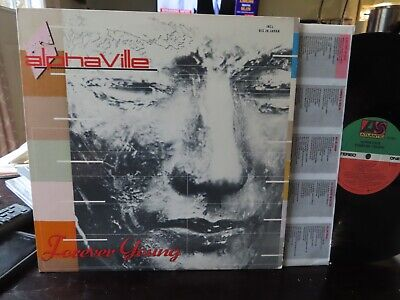 ALPHAVILLE FOREVER YOUNG 1984 ORIGINAL with Inner Sleeve SYNTH-POP  N MINT-  LP