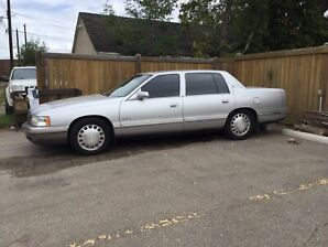 1999 Cadillac Deville 1000 obo trade smaller car