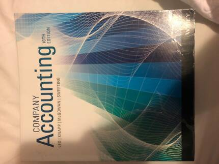 Company accounting 9th edition leo hoggett sweeting textbooks company accounting 10ed textbook knapp sweeting leo fandeluxe Choice Image