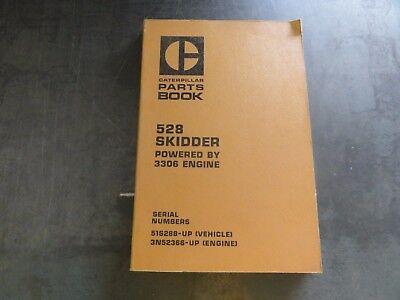 Caterpillar Cat 528 Skidder Parts Book Manual