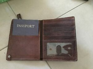 Passport holder wallet, leather Allawah Kogarah Area Preview