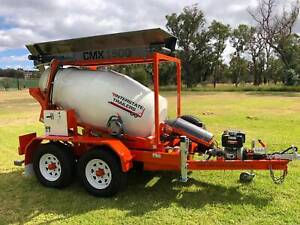 Plant Trailer Model CMXD 1500 Cement Mixer / Concrete Batching Yass Yass Valley Preview
