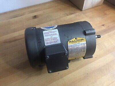 New Surplus Baldor Jm3463 34 Hp Electric Motor 3450 Rpm 3 Ph