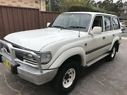 80 SERIES LANDCRUISER 1HDT FACTORY TURBO DIESEL Yennora Parramatta Area Preview
