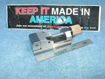 Grind Vise 3.9 Inch Meadville Talon Zipper Toolmaker Machinist Watchmaker Usa