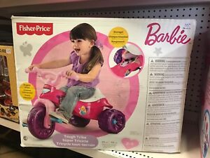 Tricycle tout terrain Barbie Fisher Price