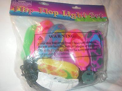 Flip Flop Light Set (FLIP-FLOP COOL FUNKY MINI 10 LT. PATIO DORM LIGHT SET )