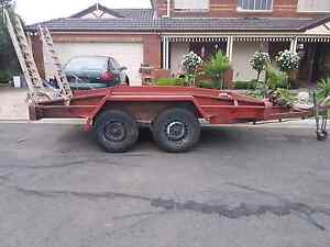 Tandem trailer heavy duty plant,  car. Hoppers Crossing Wyndham Area Preview