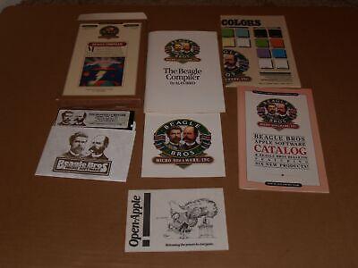 1986 Beagle Bros Micro Software Apple II+ IIe IIc IIgs Applesoft Compiler Disk