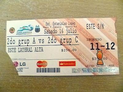 Org* Tickets-Copa America Argentina 2011 Quarterfina- Argentina v Uruguay,16 Jul