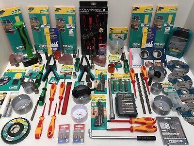 Restposten Wolfcraft u.a.Heimwerkerartikel Baumarktartikel Werkzeug (166-4-21)