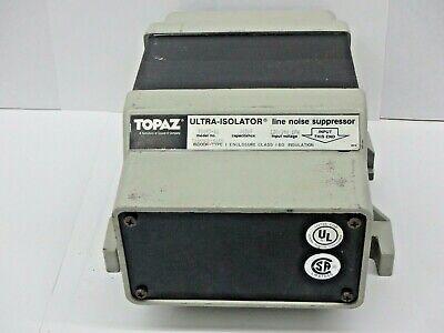 Topaz 91095-11 Line Noise Suppressor Ultra Isolator 500 Va 120240 V