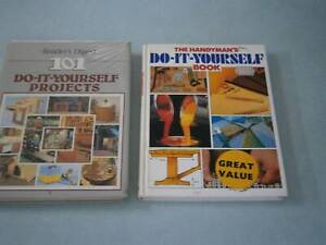 2 Do-It-Yourself books - Home handyman & projects. Knoxfield or post